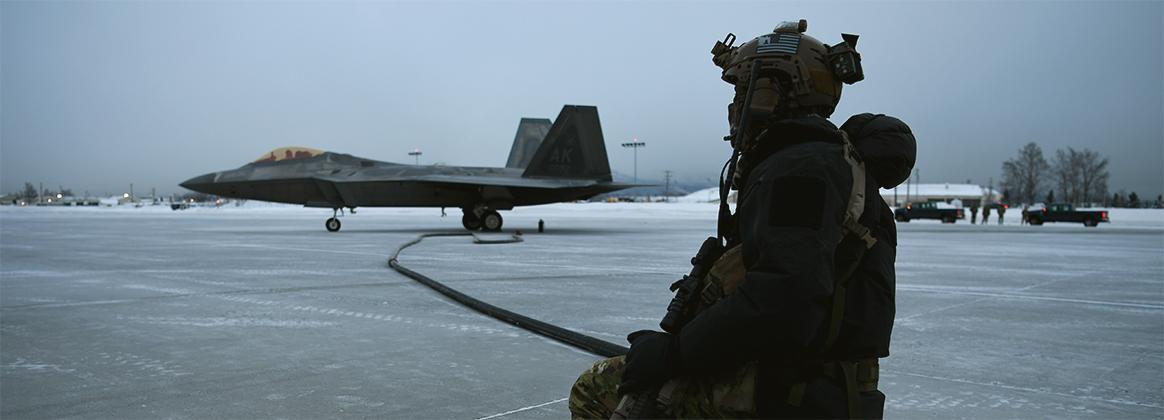 Special Tactics Refuels F-22s