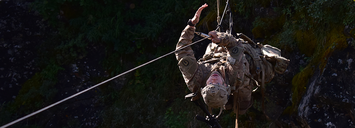 NWTC courses teach the ropes of military mountaineering