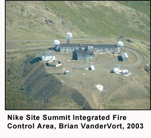 Nike Site Summit Integrated Fire Control Area